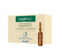 Gerovital Tratament Expert Fiole intensiv antimătreață 10 ml 10 fiole