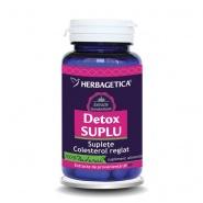 Herbagetica Detox Suplu 60 capsule