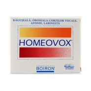 Homeovox 60 drajeuri