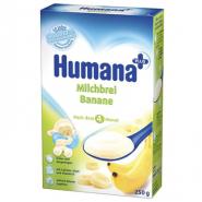 Humana Cereale piure de Banane cu Lapte 250 g
