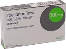 IRBESARTAN TEVA 300 mg x 28 COMPR. FILM. 300 mg TEVA PHARMA B.V.