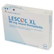 LESCOL XL 80 mg x 28 COMPR. ELIB. PREL. 80mg NOVARTIS PHARMA GMBH