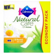 Libresse Natural Care Pantyliners Normal Absorbante zilnice 58 bucati