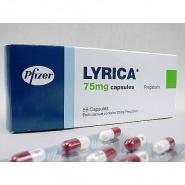 LYRICA 75 mg x 56 CAPS. 75mg PFIZER LIMITED