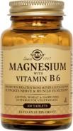 Magnesium cu Vitamina B6 100 capsule