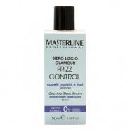 MasterLine Frizz Control Glamour Ser pentru par intins cu Sericina 50 ml