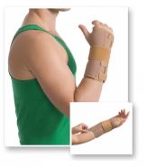 Med Textile 8551 Orteză pentru încheietura mainii cu atelă de metal bej L/XL