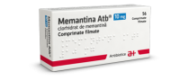 MEMANTINA ATB 10 mg x 56 COMPR. FILM. 10mg ANTIBIOTICE S.A.