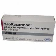 NEORECORMON 5000UI/0,3ml x 6 SOL. INJ. IN SERINGA PREUMPLUT 5000UI/0,3ml ROCHE REGISTRATION L