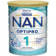 Nestle Nan 1 Optipro 0+ luni Laptele praf 400 g