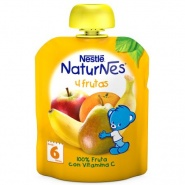 Nestle Naturnes Piure fructe 6 luni 90 g