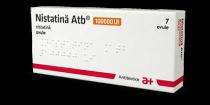 NISTATINA ATB 100000 UI X 7 OVULE 100000UI ANTIBIOTICE S.A.