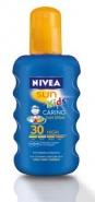 Nivea 85403 Sun KIds Moisturising Spary colorat Protectie Solara pentru copii SPF 30 200 ml