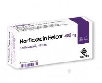 NORFLOXACIN HELCOR 400 mg x 20 COMPR. FILM. 400mg A.C. HELCOR PHARMA S