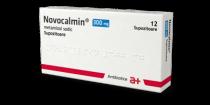 NOVOCALMIN 300 mg x 12 SUPOZ. 300mg ANTIBIOTICE S.A.