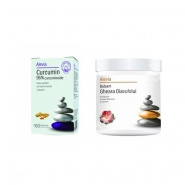 Pachet Curcumin 95 % 60 comprimate  + Balsam Gheara Diavolului 250 g Cadou