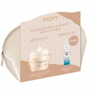 Vichy Pachet Neovadiol crema ten sensibil 50 ml + Mineral 89 gel booster 10 ml Cadou