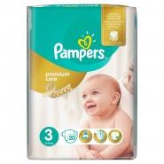 Pampers Premium Care New Born Scutece nr.4 8-14 kg 18 bucati