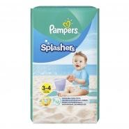Pampers Splashers nr. 3-4 6-11 kg 12 bucati