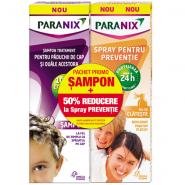 Paranix Pachet Sampon tratament 100 ml + Spray pentru preventie 100 ml