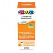 Pediakid sirop cu 22 vitamine si oligoelemente 125 ml