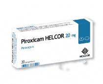 PIROXICAM HELCOR 20 mg x 20 COMPR. 20mg AC HELCOR PHARMA S.R