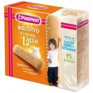 Plasmon Biuscuiti cu crema lapte, fier si vitamine 12+luni 240 g