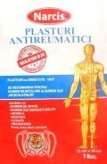 Narcis Plasture antireumatic cu ardei iute 12 cm x 18 cm