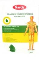 Narcis Plasture antireumatic cu mentol 12 cm x 18 cm