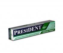 President Classic Total  Pasta de dinti protectie completa antiplaca 75 ml