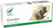 Pro Natura Ghimbir 30 capsule