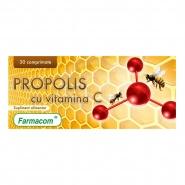 Propolis cu vitamina C 30 comprimate