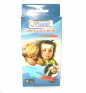 Qplaster Compresa rece instant antifebra si antidurere 4 bucati