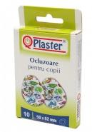 Qplaster Ocluzoare pentru copii 50 mm x 62 mm 10 bucati