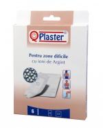 QPlaster Plasturi cu ioni de argint pentru zone dificile 6 bucati