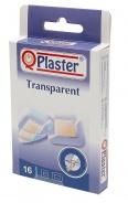 QPlaster Plasturi transparenti 16 bucati