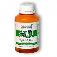 Ricinus Forte Ulei de ricin, catina si vitamina A pentru par, piele si unghii 80 g