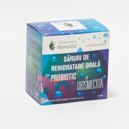 Saruri rehidratare cu probiotic si diosmectita 24 plicuri