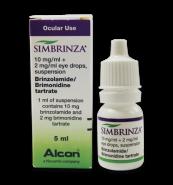 SIMBRINZA 10 mg/ml + 2 mg/ml X 1
