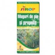 Sirop muguri de pin si propolis pentru diabetici 100 ml