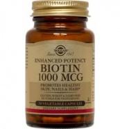 Solgar Biotin 1000 mcg 50 capsule
