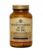 Solgar Pantothenic Acid (Vitamina B5) 550mg 50 capsule