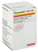 THIOCTACID R 600 HR x 100 COMPR. FILM. 600mg MEDA PHARMA GMBH & C