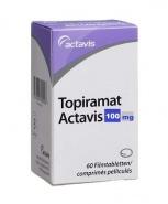 TOPIRAMAT ACTAVIS 100 mg x 60 COMPR. FILM. 100mg ACTAVIS S.R.L.