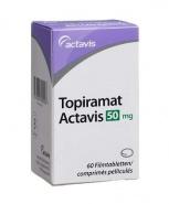 TOPIRAMAT ACTAVIS 50 mg x 60 COMPR. FILM. 50mg ACTAVIS S.R.L.