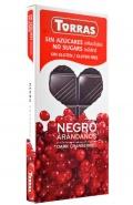 Torras Ciocolata neagra cu coacaze 150 g