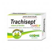 Trachisept Junior miere si lamaie 16 comprimate