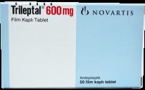 TRILEPTAL R 600 mg x 50 COMPR. FILM. 600mg NOVARTIS PHARMA GMBH