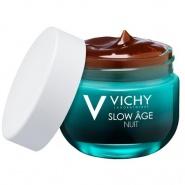 Vichy Slow Age Crema de noapte pentru ten neted si uniform 50 ml