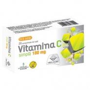Vitamina C fara zahar 180 mg 20 comprimate